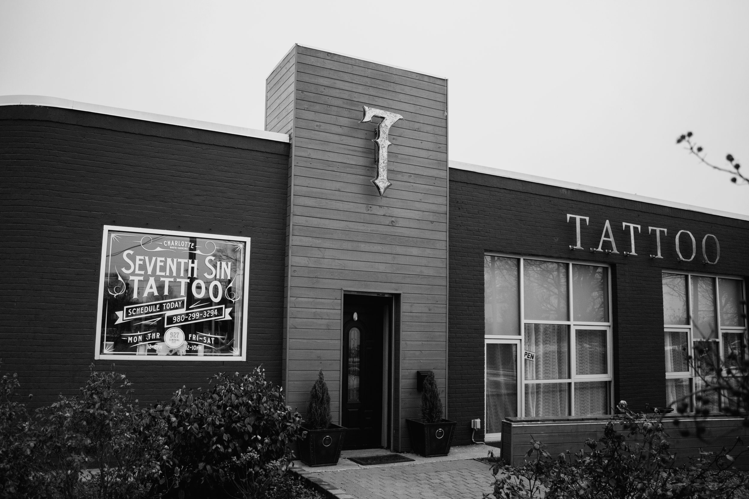 Seventh sin tattoo company charlotte nc for Tattoo shops in nc